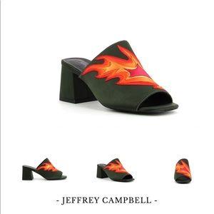 Jeffrey Campbell Flames 🔥Mule